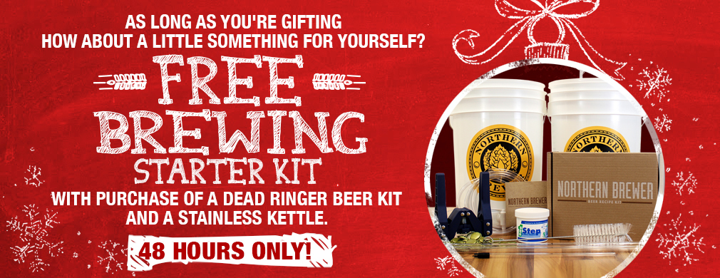 Black Friday homebrew deals are online at Adventures in Homebrewing. Check out our Black Friday sale on beer brewing, kegging and wine making supplies.