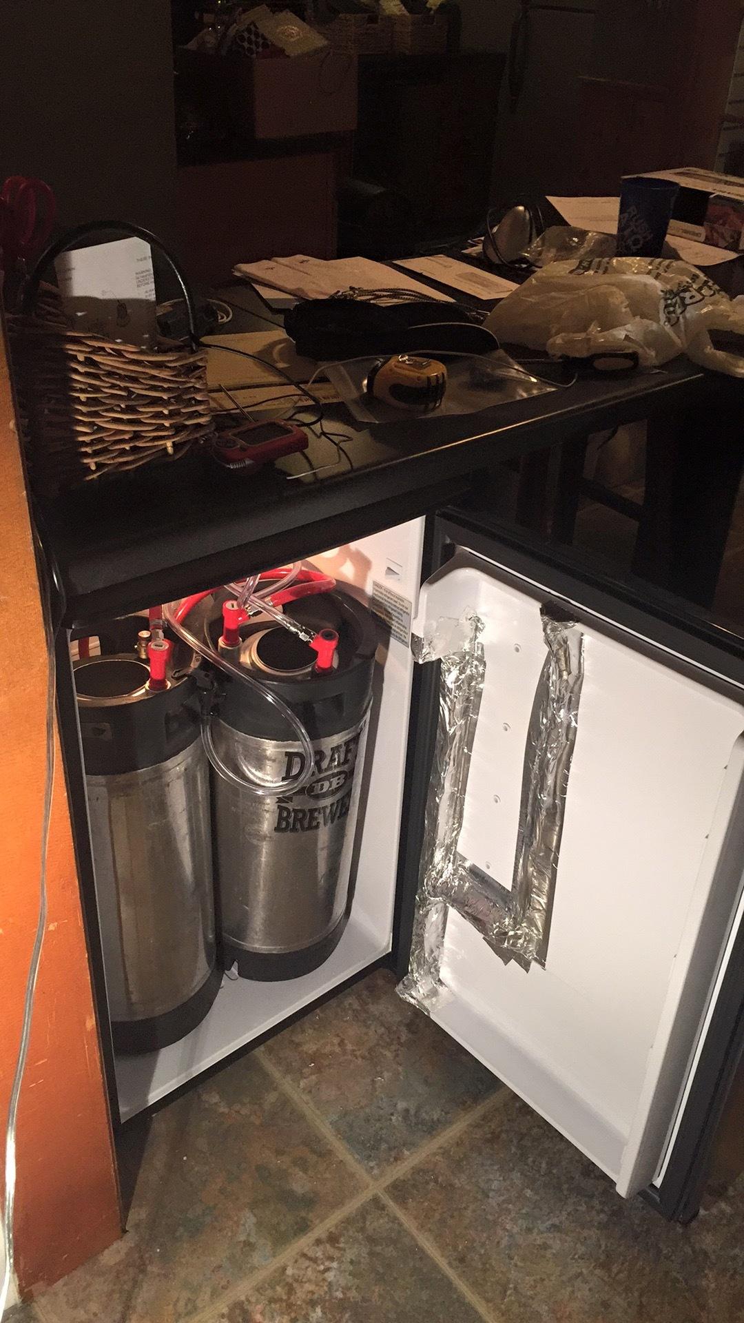 Under bar refrigerator Kegging Northern Brewer Forum